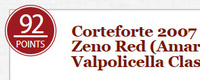 Corteforte 2007 Terre di San Zeno Red – WE – 92 pts