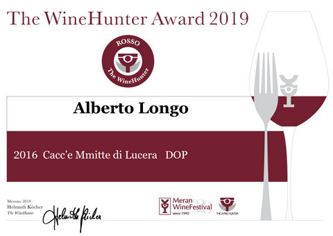Cacc'e Mmmitte di Lucera DOC 2016 – Wine Hunter